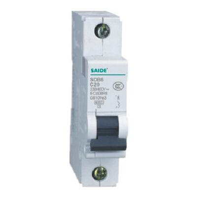Sdb65-63 Series Low Voltage Fixed Miniature Circuit Breaker MCB