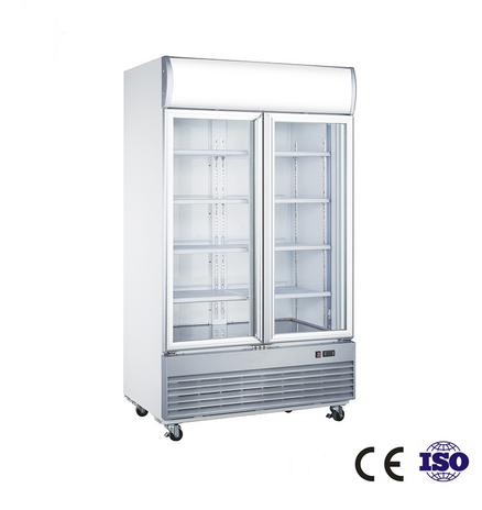 1000-Liter Upright Refrigerator with Double Door