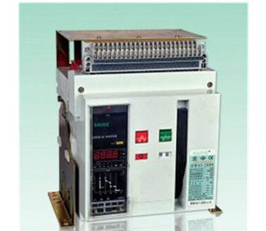 Dw45 2000A Series Low Voltage Normal Type Air Circuit Breaker ACB