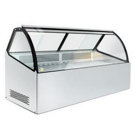 Commercial Display Meat Refrigerator Showcase