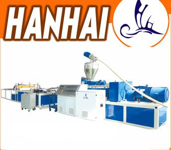 pvc doors and windows profile making machine
