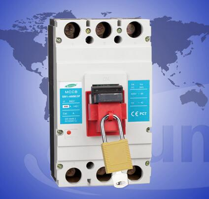 SM1-400 12.5 to 1250a Moulded Case Circuit Breaker with lock