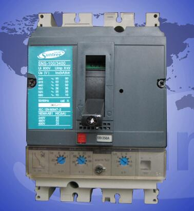 NS-100 Series Intelligent type 3 pole Moulded Case Circuit Breaker