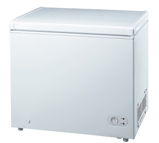 Top Open Solid Door Free Standing Chest Freezer