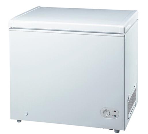 Top Open Solid Door Free Standing Chest Freezer