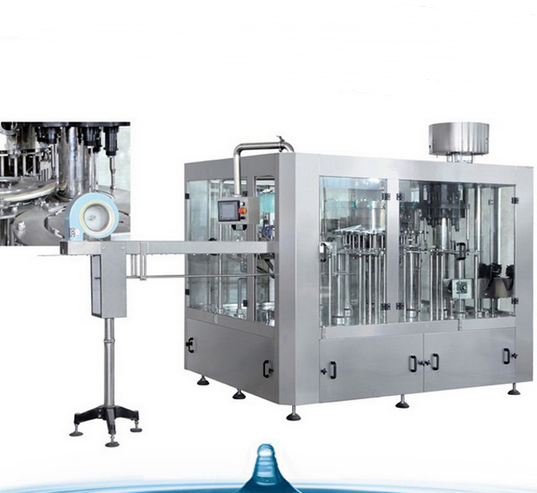 Automatic Small Scale Drinking Mineral Water Process Line