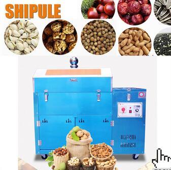 Popular macadamia nut roasting machine
