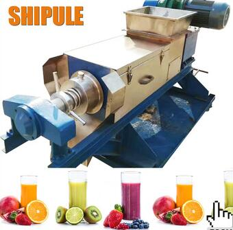 New arrive 500-1200kg coconut milk screw press/screw press juicer/paper sludge dewatering machine
