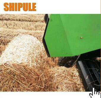 MInitype Tractor Towed Walking Crops Straw Baler, Wheat Baler Machine, Hay Round Baler Machine