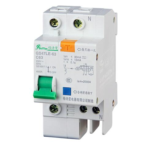 Dz47le-63 Series Low Voltage fixed Miniature Circuit Breaker 1p
