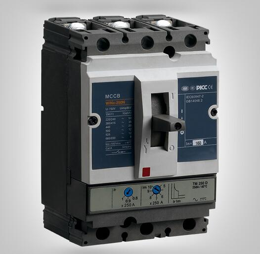 Winc Series MCCB  Overcurrent Protection Moulded Case Circuit Breaker