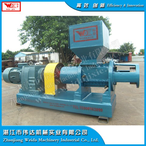 standard rubber powder helix crushing machine