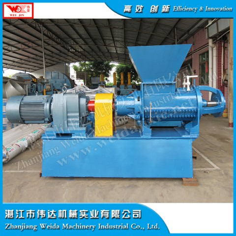 energy-saving rubber helix crushing machine