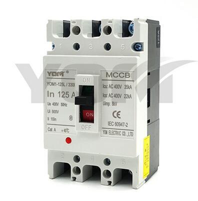 YOM1L-125 Series Low Voltage Moulded Case Circuit Breaker
