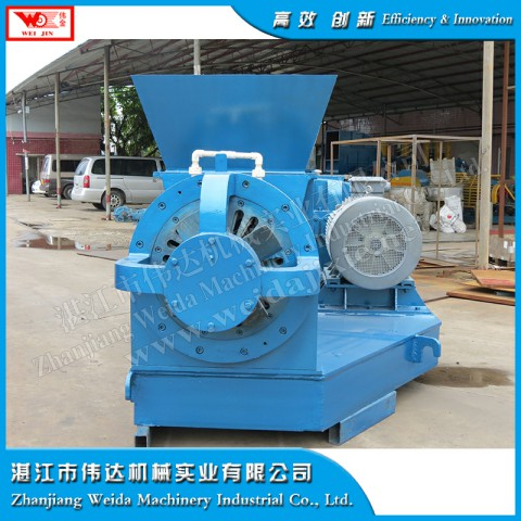 Scrap tyres recycling machine