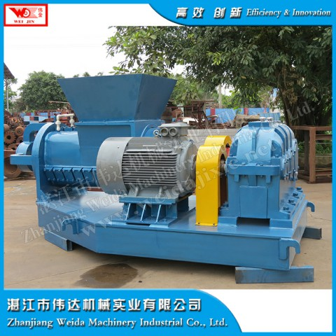 smoked rubber crusher