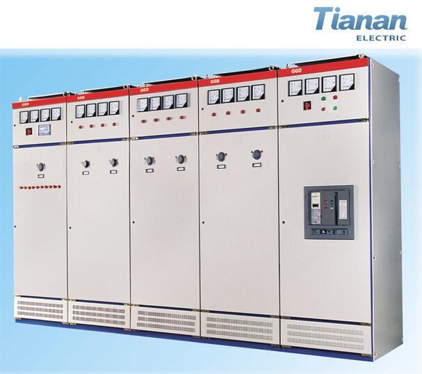 Gcs Gck Ggd0 Electrical Switch Power Distribution Cabinet Switchgear