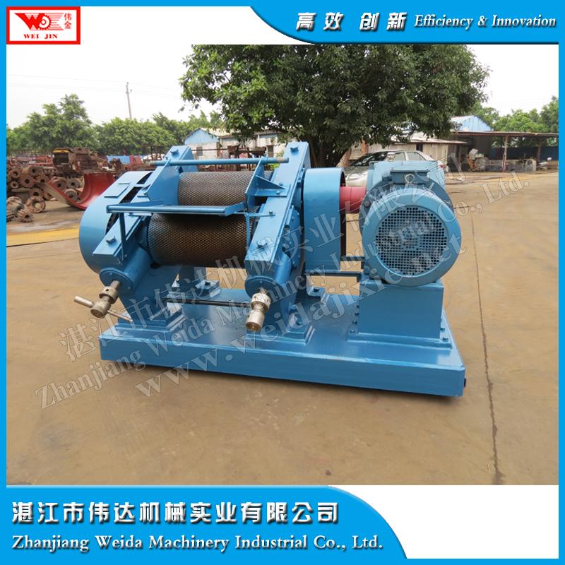crump rubber processing rubber crepe machine