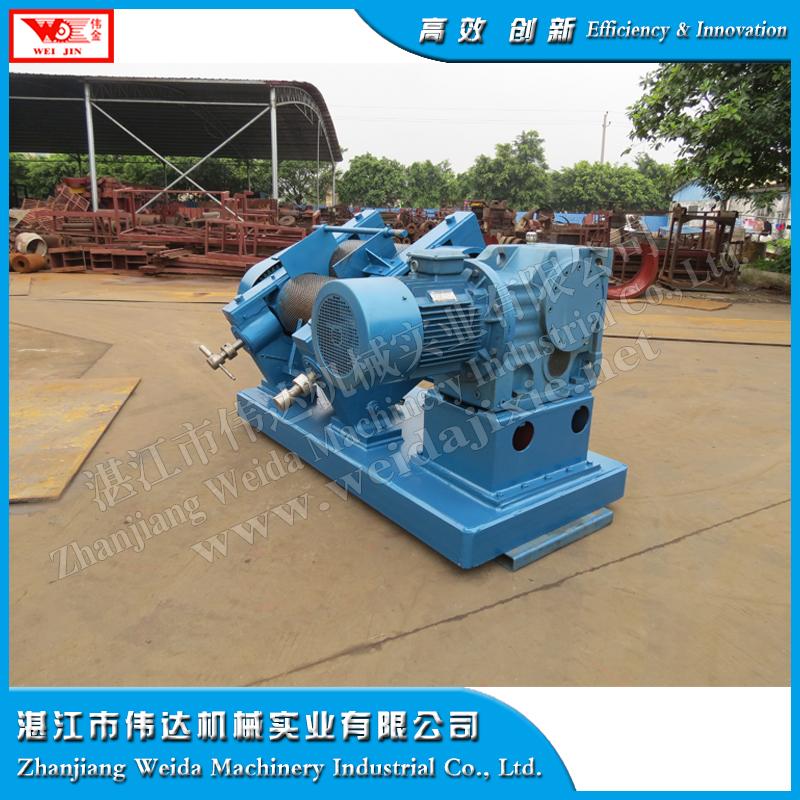 Dry rubber sheeting making machine
