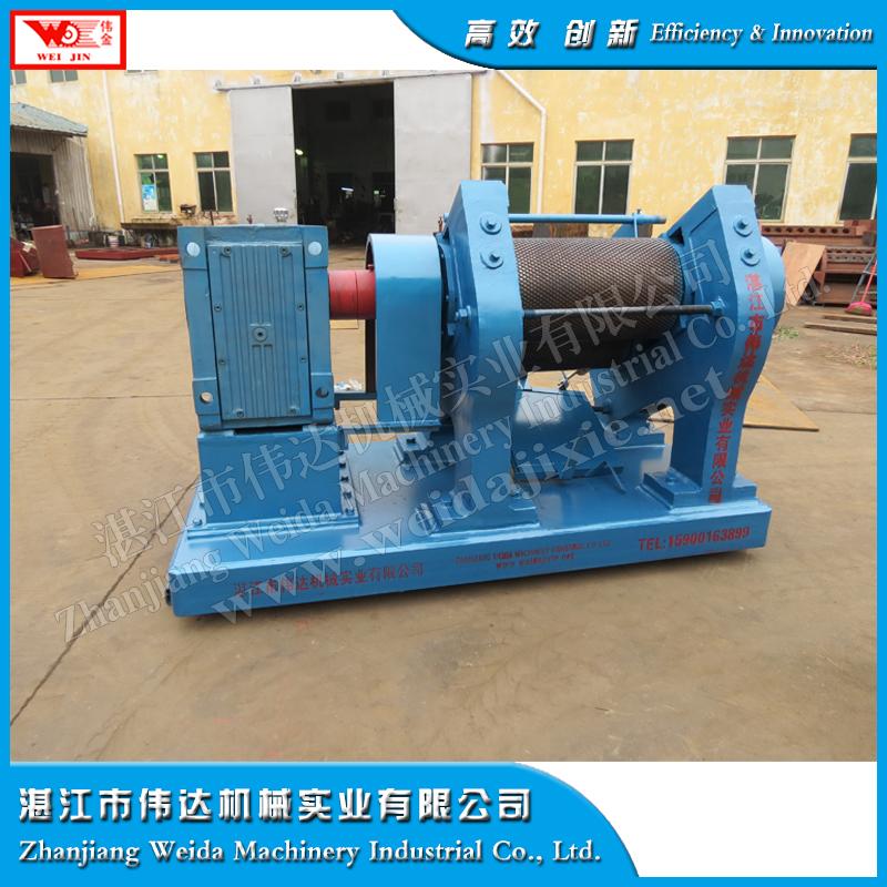 SVR20 natural rubber sheeting making machin