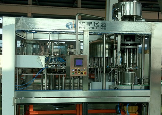 Automatic Pure Water Bottling Packaging Machine