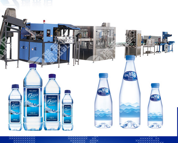 Complete Automatic Pure Water Filling Line
