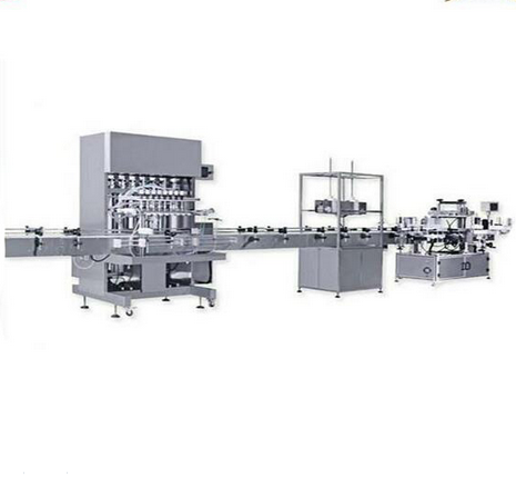 Automatic Lubricating Oil Filling Production Line