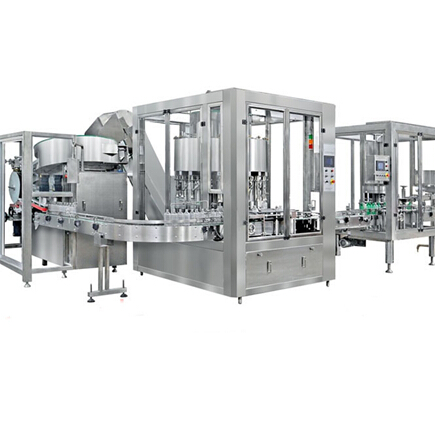 Auto Detergent/Hand Soap Filling Processing Line
