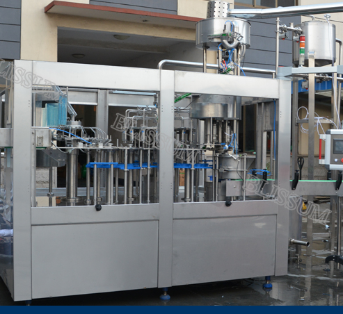 1000-25000bph Small Bottle Juice and Milk Producing Line