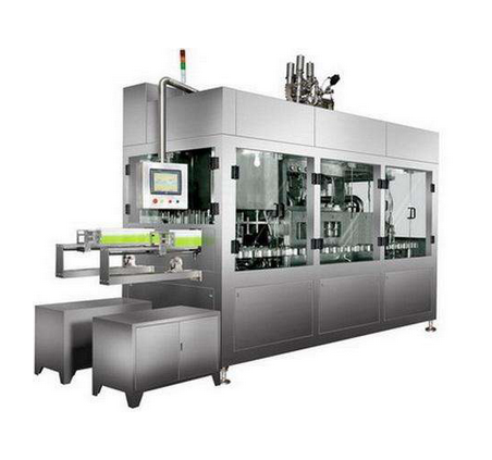 Aseptic Filling Machine for Juice Milk Packing Machine Labeling Machinery