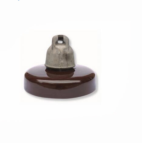 160KN Electrical Pin Porcelain Insulator ANSI 55-2 for High Voltage