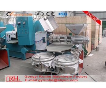 Rapeseeds oil expeller cotton seed oil pressing machines