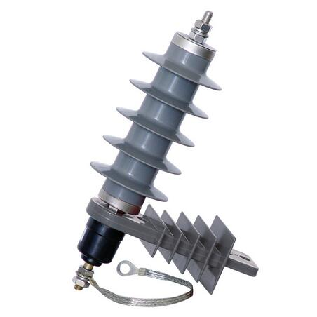 HY5WS-17 Series 10KV ZnO Lightning Arrester with disconnector