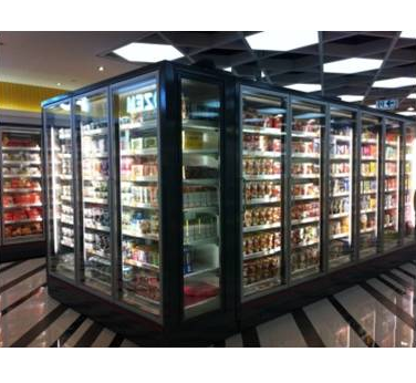 Vertical Showcase Freezer Made in China