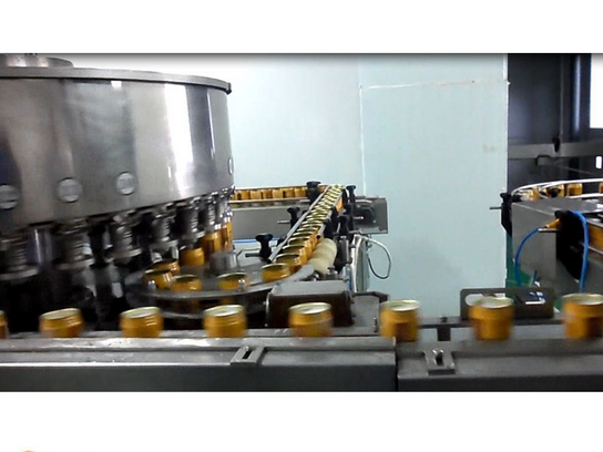 New Design Coconut Milk Pop Can Filling and Sealing Machine