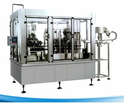Full Automatic Carbonated Gas Beverage Processing Machine