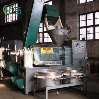 oil press machine with oil filter