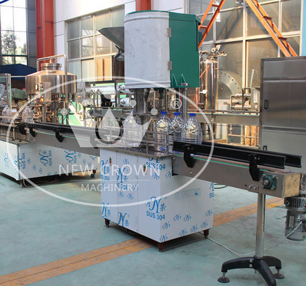 Low Price Linear Type Juice Filling Line
