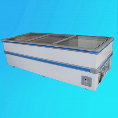 Jumbo Freezer, Supermarket Glass Door Freezer