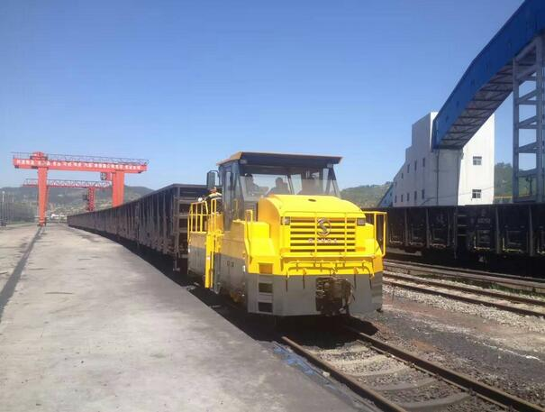 QY4300 Series Roadrail Used for Railway Shunting and Pulling