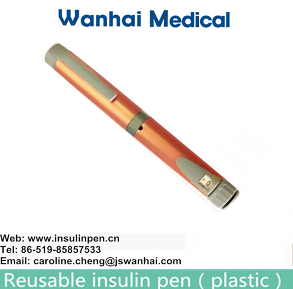 Cheap injection pen with metal