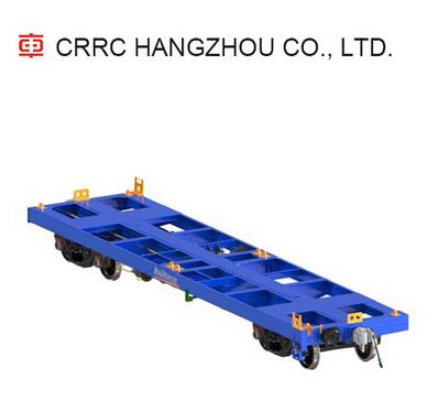 21t 1435mm Load 60T container flat car platform wagon