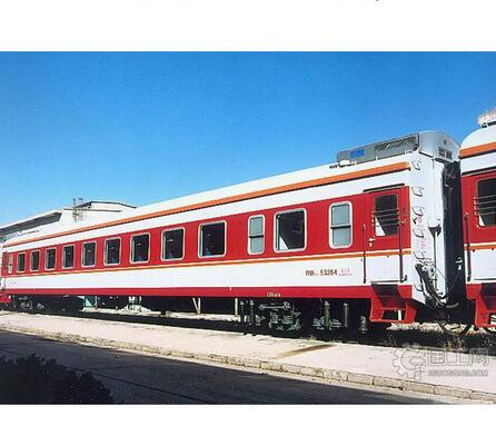 25G  31 - 50t  Stainless Steel Hard Seat Passenger Coach railway train