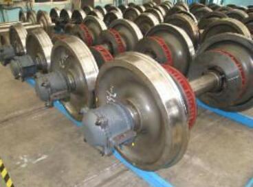 China Suppliers Axle AAR UIC standard Railway wheel