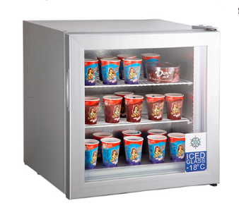 Tabletop Mini Ice Cream Freezer Refrigerator Ice Cream Fridge