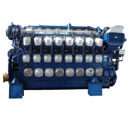 12V240ZD China Crrs CNR Dalian Water-Cooled Locomotive Engine