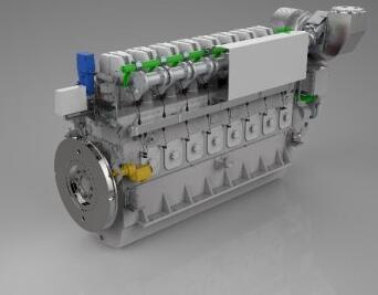 16V240ZDSG China Crrs CNR Dalian Four-Stroke Locomotive Engine