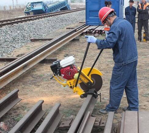 Dqg-3 Series Electrical Railway Cutting Machine Rail Cutting Saw