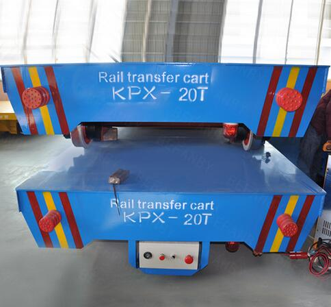 KPX-Battery powered 20t Capacity Transport Wagon on Curve Rails