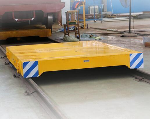 Versatile Utility Use Rail Handling Equipment Transfer Flat Cart